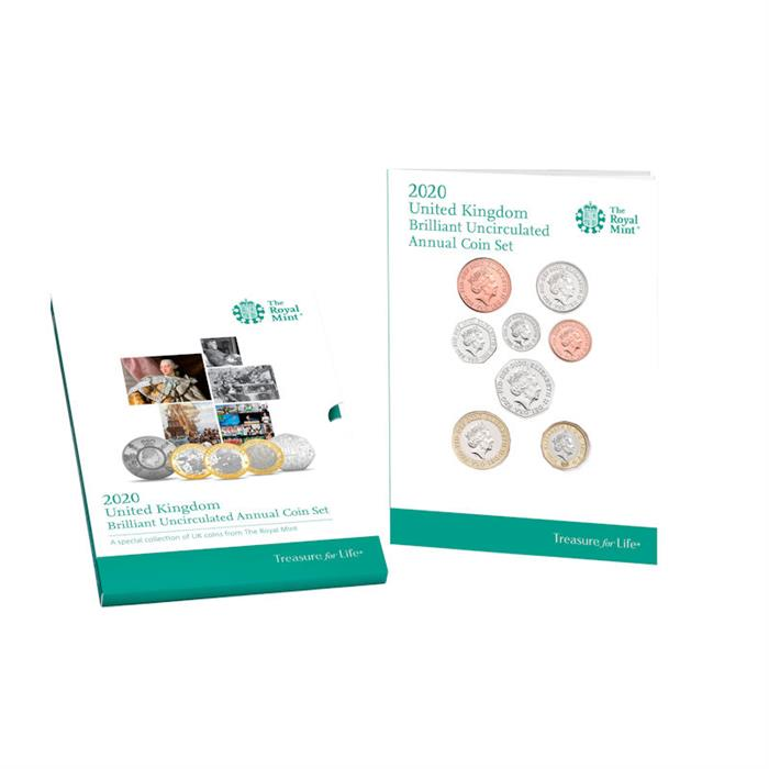 2019 United Kingdom Annual Brilliant Uncirculated 13 Coins Set