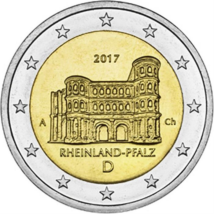 NEW ISSUE 2 EURO UNC COIN 2016 YEAR SACHSEN DIFFERENT MINT MARK GERMANY