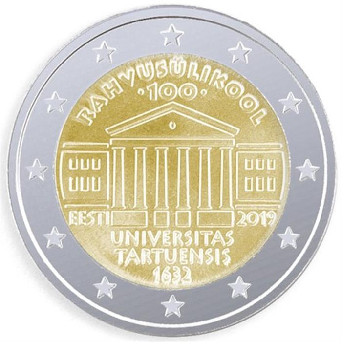 "2017 Estonia 2 Euro Uncirculated Coin /""Estonian Independence/"""