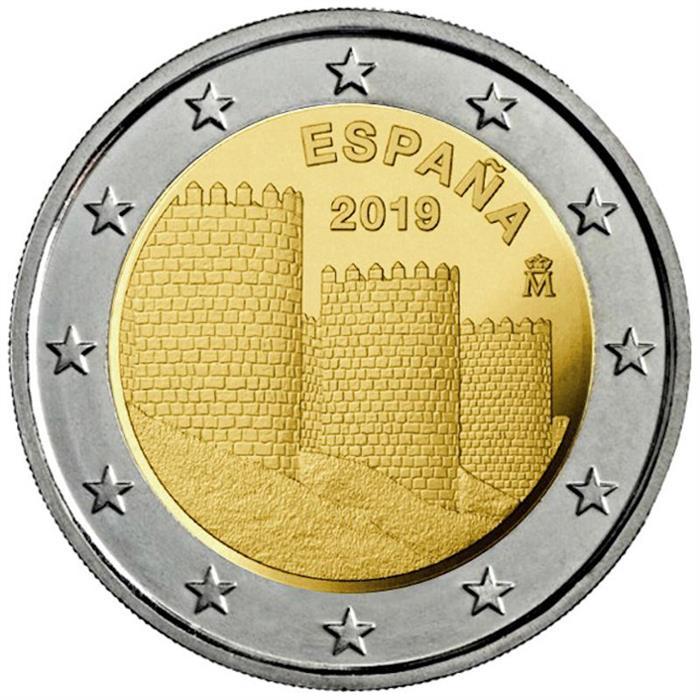 "Spain 2 euro coin 2014 /""Works of Antoni Gaudi/"" UNC"